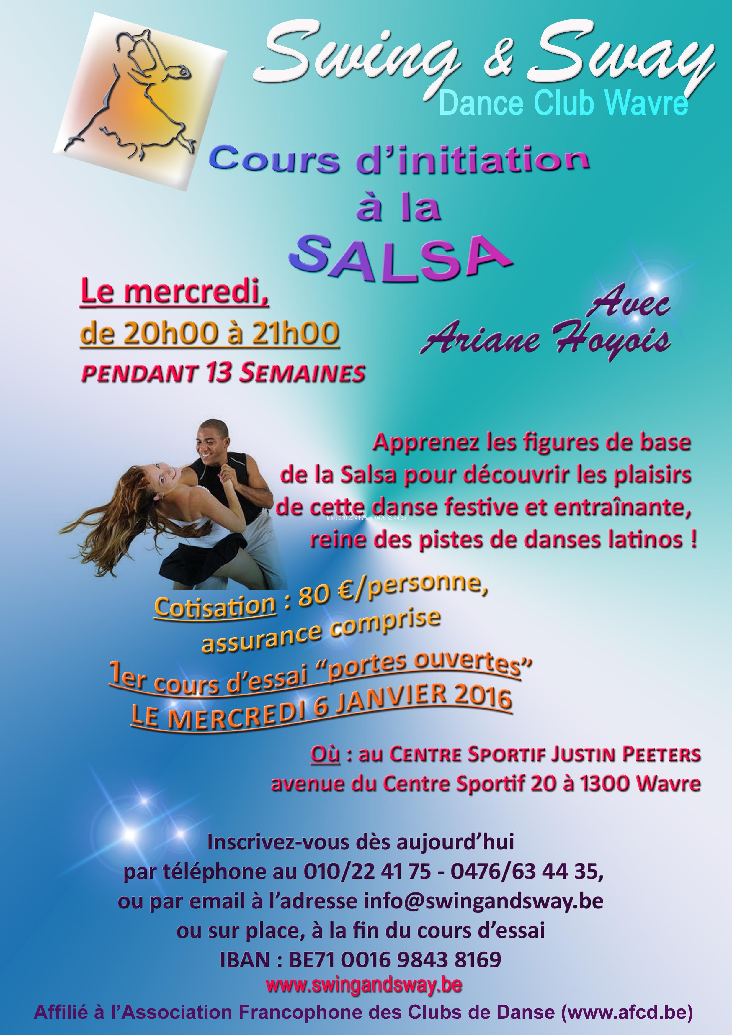 2016 01 06 Nouveau cours Rock-Salsa