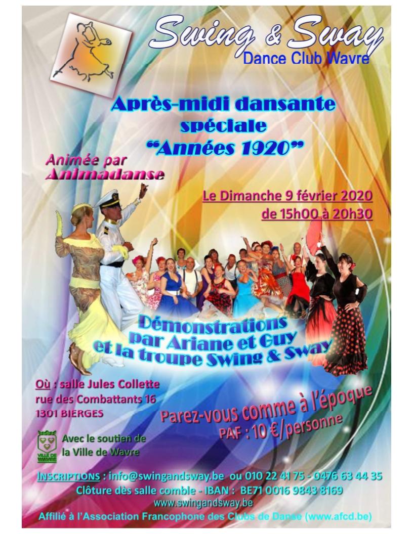 2020 02 09 Après-midi dansante Photos